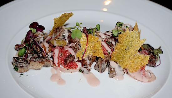 Ravello Four Seasons Orlando portobello mushroom salad image