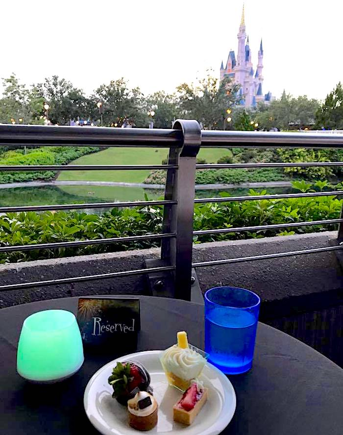 Tomorrowland Terrace Fireworks Dessert Party image