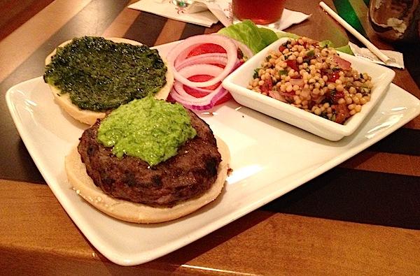 The Wave Disney World bison burger image