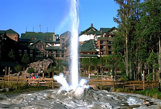 Disney's Wilderness Lodge geyser image