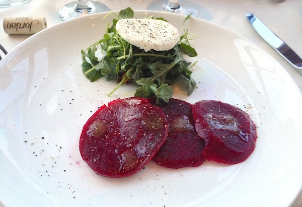 The Dining Room at Wolfgang Puck's Grand Cafe Downtown Disney beet salad image