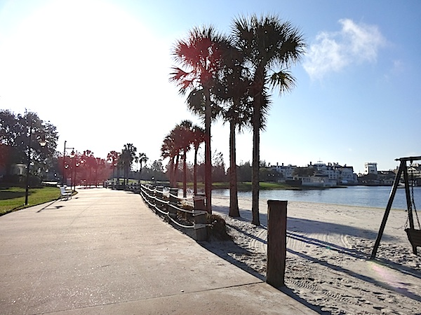 Disney's Yacht Club Running Trail image