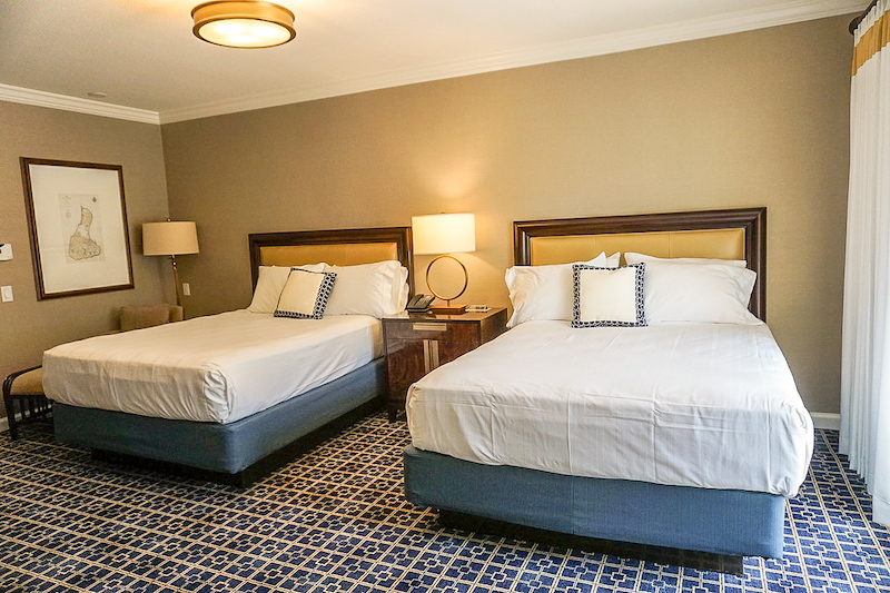Disney's Yacht Club Turret Two-Bedroom Suite guest bedroom image