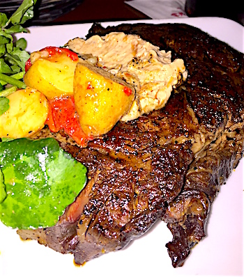 Le Cellier rib-eye steak image