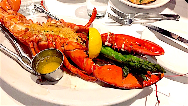 The Boathouse Disney Springs lobster image