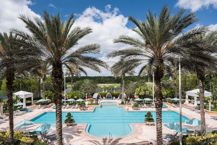 Ritz Carlton Orlando Grande Lakes spa pool image