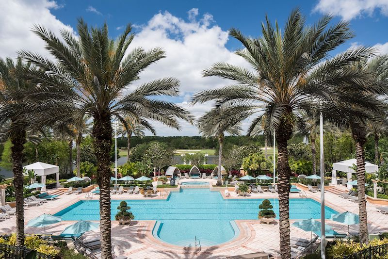 Ritz-Carlton Orlando pool